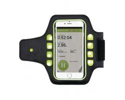 Neoprenové sportovní pouzdro BARK pro chytrý telefon - černá