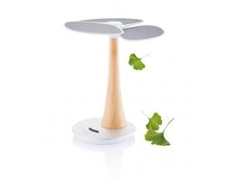 Solární nabíječka se stojánkem ABLER ve tvaru stromu - bílá