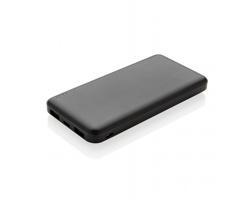 Kapesní vysoce výkonná powerbanka TUART pro dobíjení 2 zařízení současně - černá