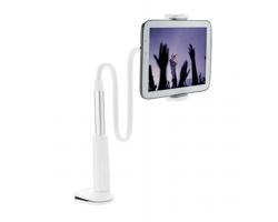 Plastový flexibilní držák mobilního telefonu MAGOT - bílá