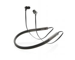 Značková basová sluchátka Swiss Peak AMPLE - šedá / černá