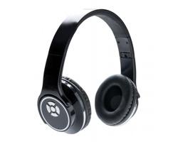 Unikátní skládací bezdrátová sluchátka RUBY s funkcí reproduktoru, 2v1 - černá