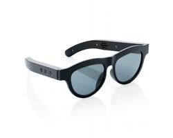 Sluneční brýle GRACEMONT s integrovaným bluetooth reproduktorem - černá