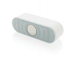 Bezdrátový stereo reproduktor BRAGG s integrovaným ovládáním - bílá
