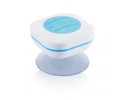Plastový reproduktor ELOPING do sprchy - bílá / modrá