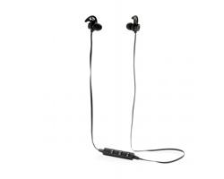 Bezdrátová bluetooth sluchátka PAVIS s magnety - černá