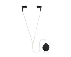 Bezdrátová sluchátka typu pecky BRADS - černá