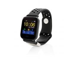 Chytré moderní hodinky ABRAM s dotykovým displejem - černá