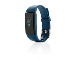 Voděodolný fitness náramek THOLE s OLED displejem - modrá