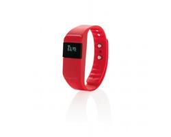 Fitness náramek BRISBEN pro sledování sportovních aktivit - červená