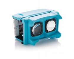 """Plastové brýle pro virtuální realitu SOPS, až pro 6"""" displej - modrá"""