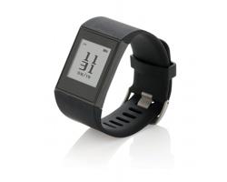 Silikonové multifunkční sportovní hodinky MISC, sledují až 24 sportů - černá
