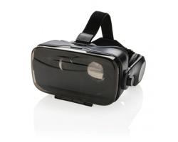 Plastové brýle pro virtuální realitu RAKISH se sluchátky - černá