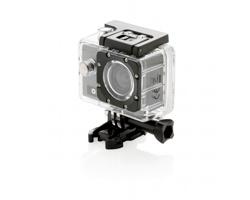 Značková full HD kamera Swiss Peak HOLLANDALE, 11 komponentů - šedá / černá
