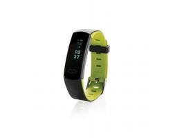 Voděodolný fitness náramek PAREN s OLED displejem - zelená