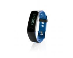 Voděodolný fitness náramek PAREN s OLED displejem - modrá