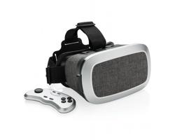 Textilní brýle pro virtuální realitu HACKSAWS s dálkovým ovladačem - šedá