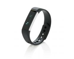 Silikonový sportovní náramek FLIRT promonitorování sportovních aktivit - černá
