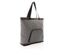 Chladicí taška MALKA z recyklovaného PET materiálu - šedá