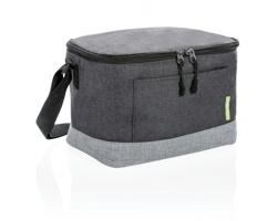 Dvoubarevná chladicí taška DRUSE z RPET materiálu - šedá / šedá