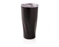Nerezový termohrnek OARS, 500 ml - černá