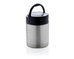 Nerezový box GREEN pro uložení potravin, 350 ml - stříbrná