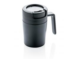Nerezový hrnek na espresso AXLE, 160 ml - černá