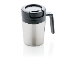 Nerezový hrnek na espresso AXLE, 160 ml - stříbrná