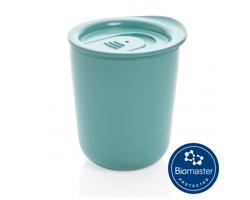 Plastový termohrnek CARED s antimikrobiální ochranou, 250 ml - zelená