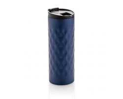 Nerezový termohrnek IVORYTON, 350 ml - modrá