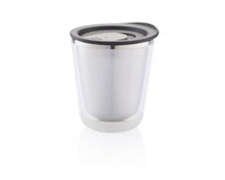Nerezový termohrnek na espresso SUMO, 227 ml - černá