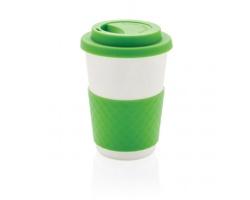 Ekologický kávový šálek CHILLIER z bambusu, 270 ml - zelená