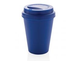 Opakovaně použitelný hrnek AIDER s dvojitou stěnou, 300 ml - modrá