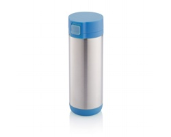 Nerezový cestovní hrnek TETHERS, 250 ml - modrá