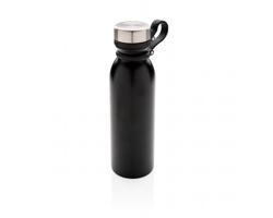 Nepropustná termolahev SUINT s poutkem, 600 ml - černá