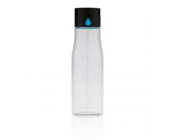 Tritanová láhev NISIN s indikátorem pitného režimu, 600 ml - transparentní