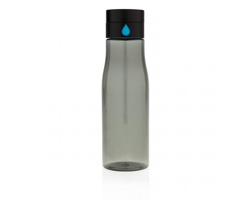 Tritanová láhev NISIN s indikátorem pitného režimu, 600 ml - černá