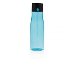 Tritanová láhev NISIN s indikátorem pitného režimu, 600 ml - modrá