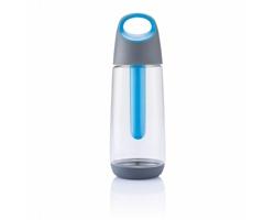 Ekologická láhev na pití HOUSTON s chladicí částí, 700ml - modrá