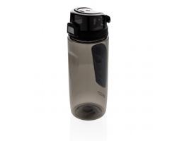 Sportovní tritanová lahev Swiss Peak FLASK, 600 ml - černá / černá