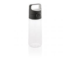 Tritanová nepropustná lahev OPERE, 600 ml - transparentní / antracitová