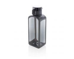 Nepropustná tritanová lahev BRADFORD s uzamykatelným víčkem - černá