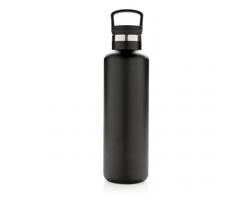 Nepropustná termolahev MARIANNA se standardním hrdlem, 600 ml - černá