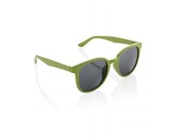 Eko sluneční brýle z pšeničné slámy KELTS - zelená