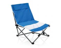Skládací plážové křeslo DENA - modrá