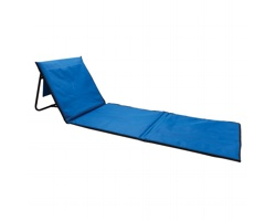 Skládací plážové lehátko MACY - modrá