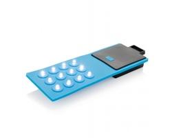 Ohebné pracovní světlo KOPPERL, 12 LED - modrá