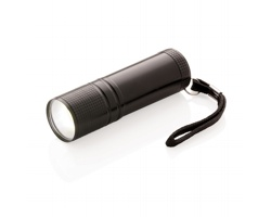 Hliníková COB svítilna EXES s extra jasným světlem - černá