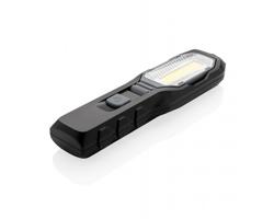Multifunkční pracovní LED světlo GAGED s nastavitelným kloubem - černá