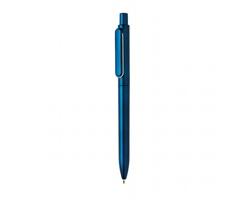 Metalické kuličkové pero FORM - modrá